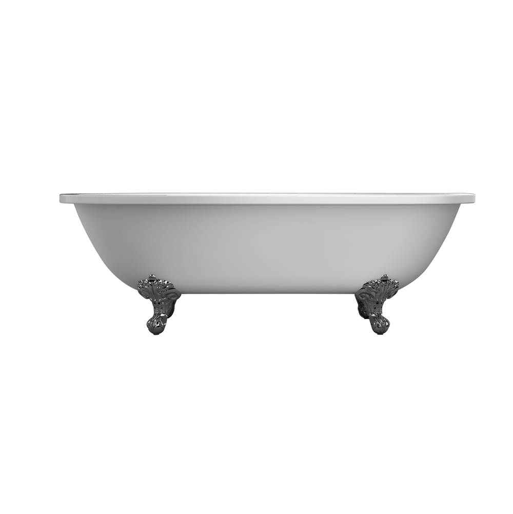 Barclay Clawfoot Soaking Tubs item ATDRN70I-WH-BN