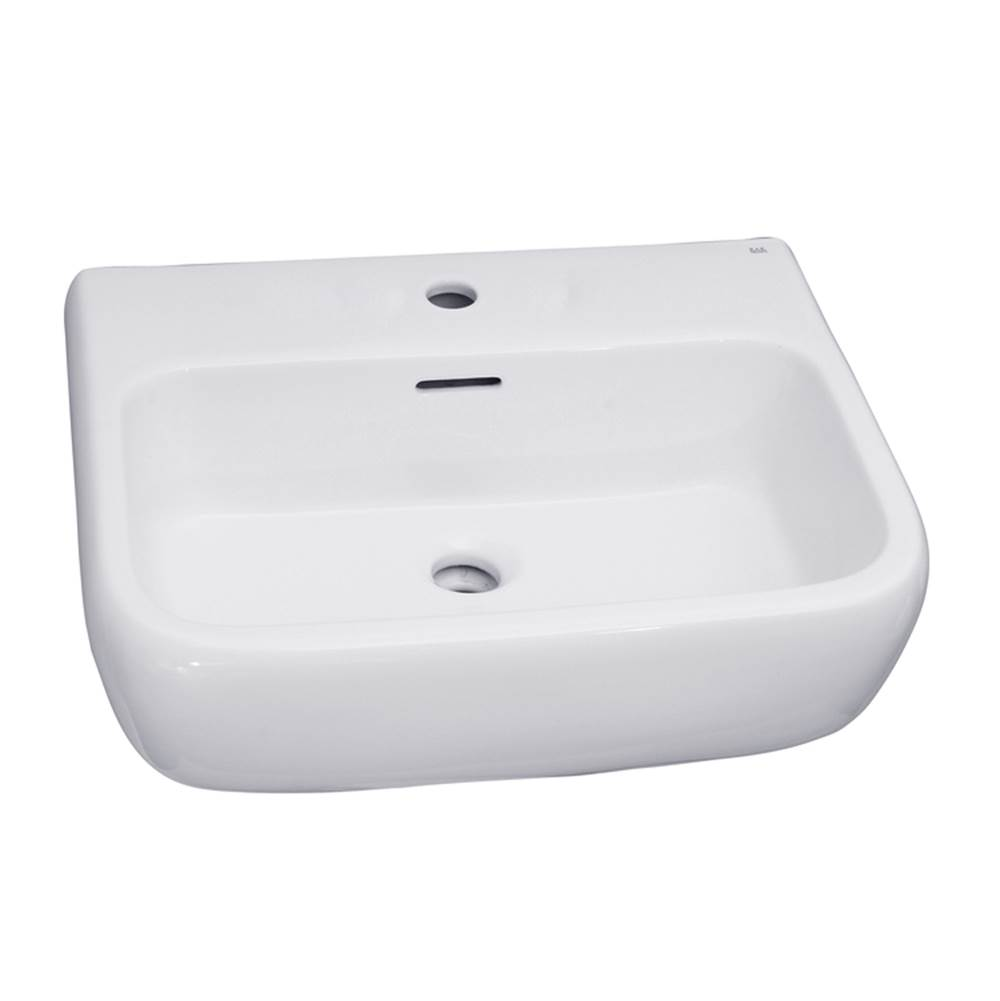 Barclay Vessel Only Pedestal Bathroom Sinks item B/3-1001WH