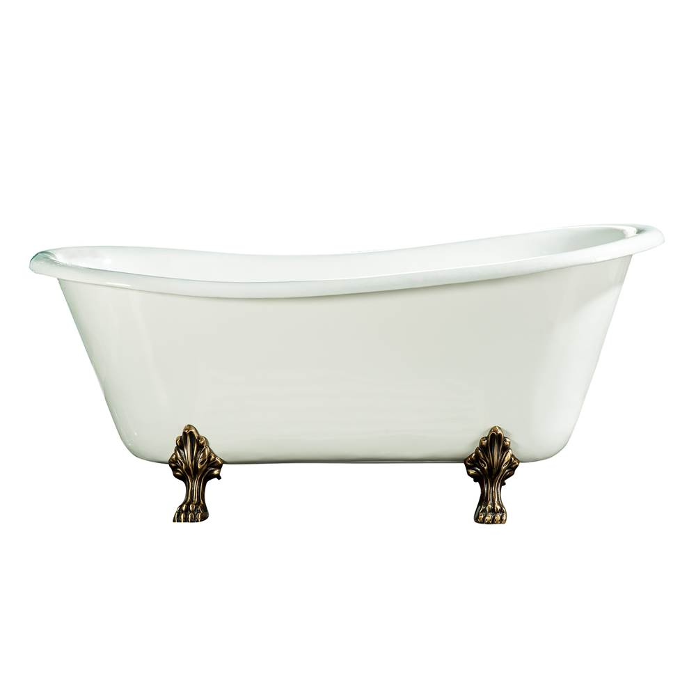 Barclay Clawfoot Soaking Tubs item CTSN67LP-WH-CP