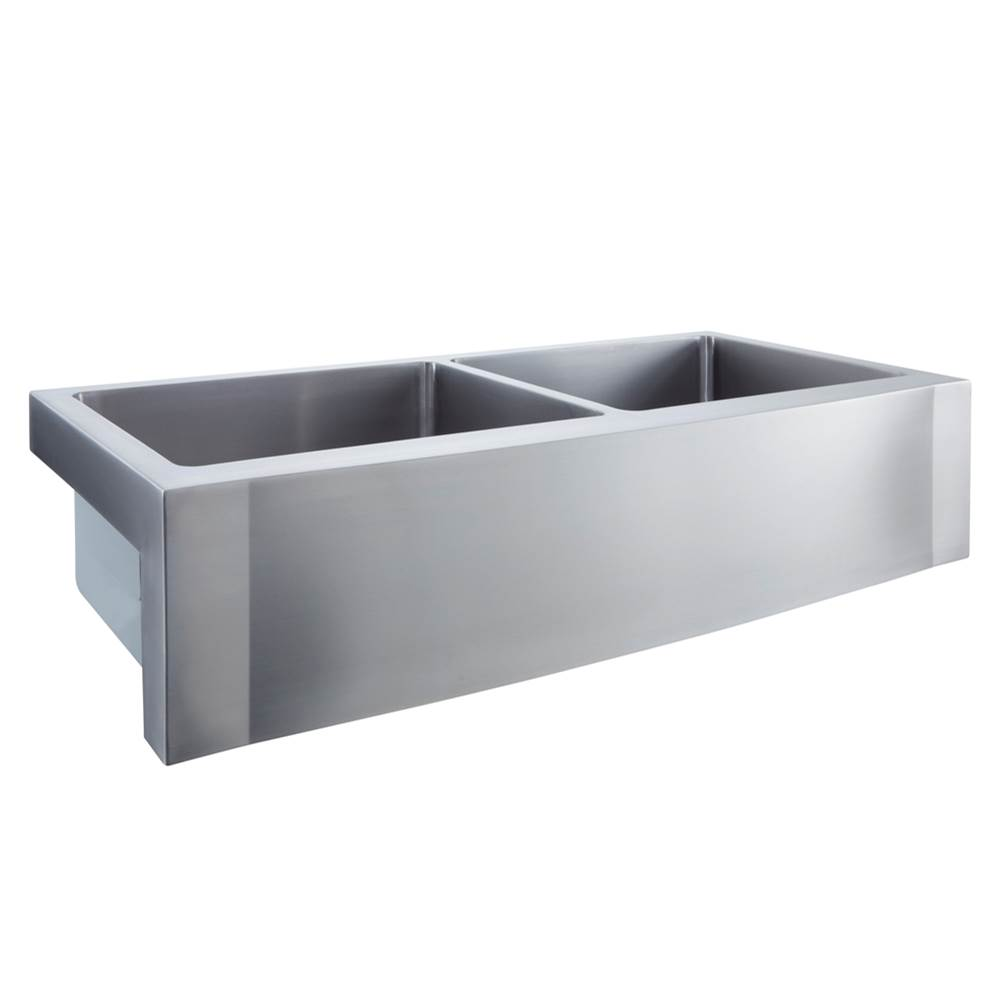 Barclay Farmhouse Kitchen Sinks item FSSDB2612-SS