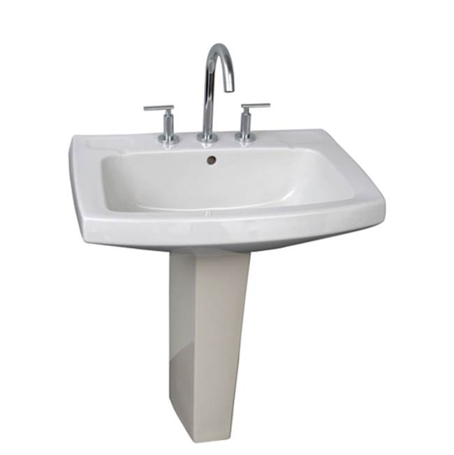 Barclay Complete Pedestal Bathroom Sinks item B/3-978WH