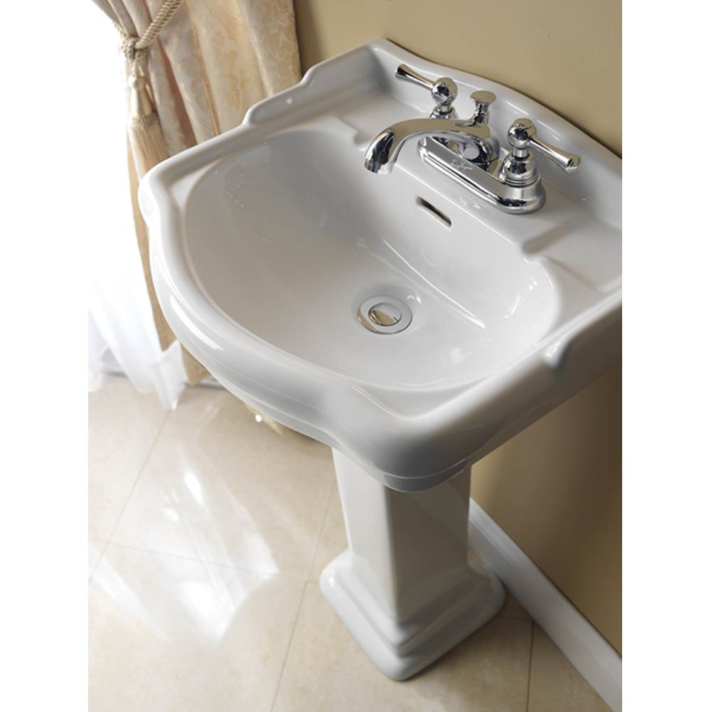 Barclay Complete Pedestal Bathroom Sinks item 3-876WH