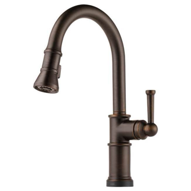 Brizo Single Hole Kitchen Faucets item 64025LF-RB