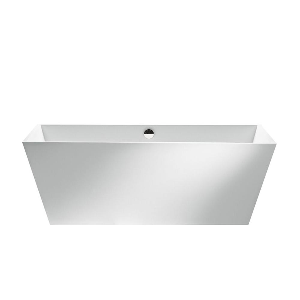 MTI Baths Free Standing Air Bathtubs item AST130SS-BI-MT