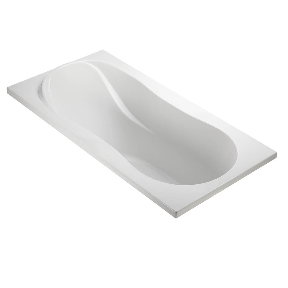 MTI Baths Drop In Whirlpool Bathtubs item P45S-WH