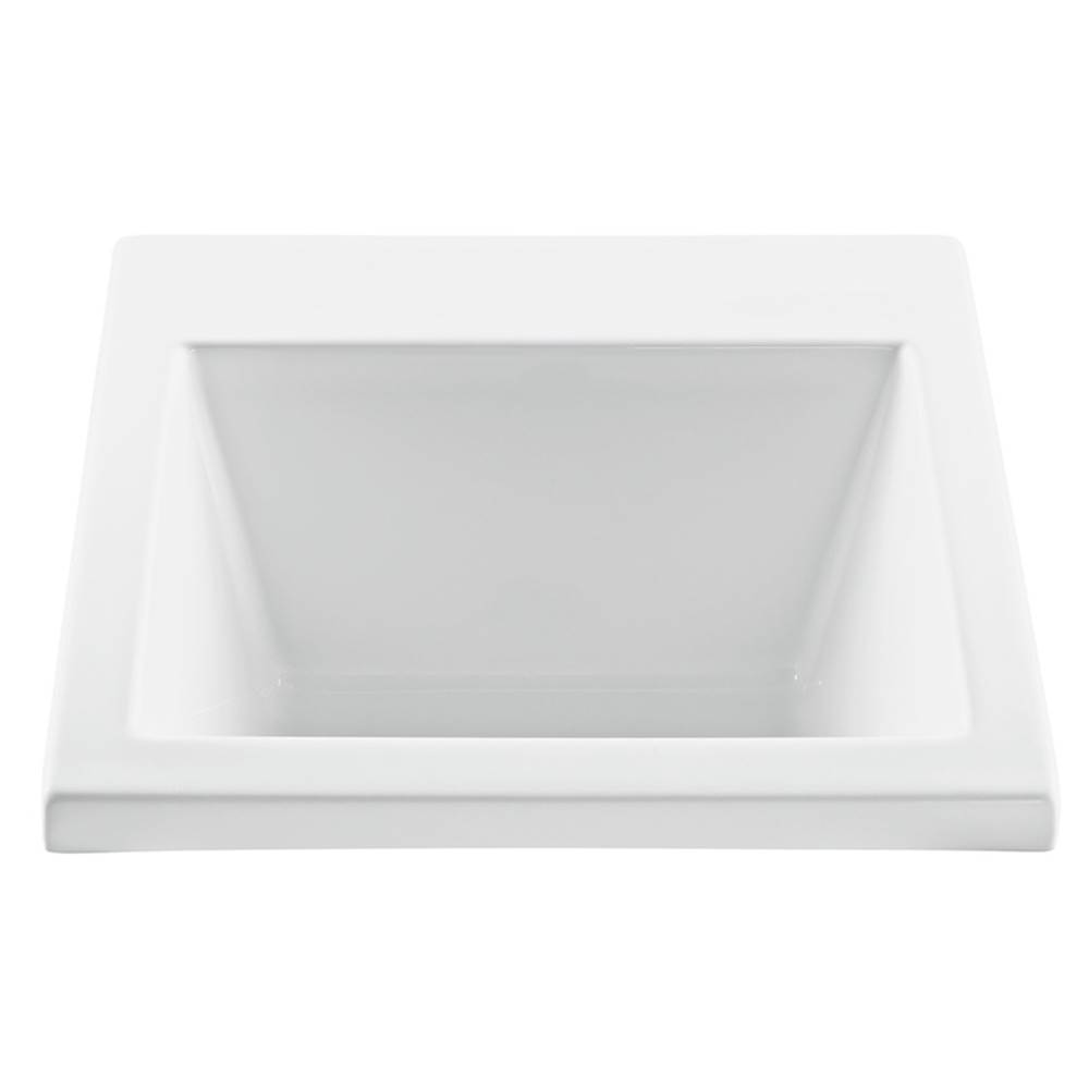 MTI Baths Drop In Laundry And Utility Sinks item MTLS120-WH-DI